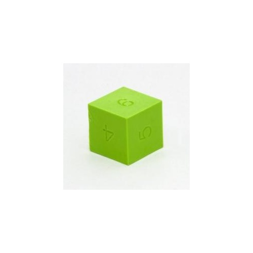GMS Dice Set: Lime Green D6 (12)