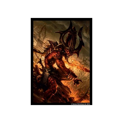 40k Art Sleeves - Chaos Daemons