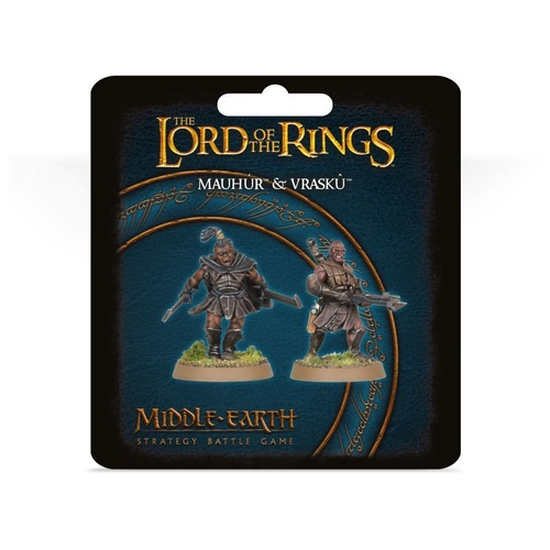 Middle Earth Strategy Battle Game: Mauhur And Vrasku