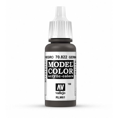 Model Colour German Cam Black Brown 17 ml
