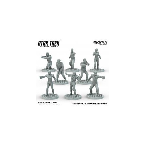 Star Trek Adventures Romulan Strike Team Miniatures Set