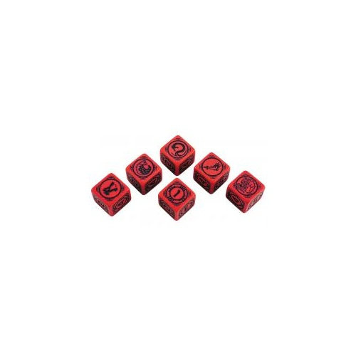BattleTech Dice Set - House Kurita (6D6)