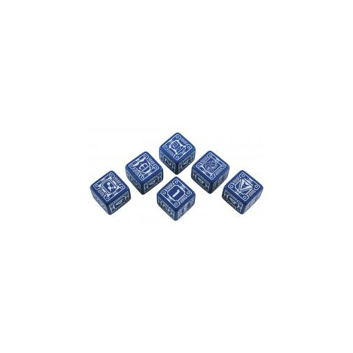 BattleTech Dice Set - House Steiner (6D6)