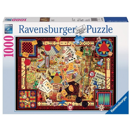 Ravensburger: Vintage Games Puzzle 1000pc